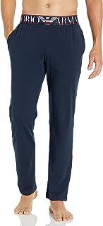 Emporio Armani 安普里奥·阿玛尼男式Megalogo长裤 海洋蓝 Medium