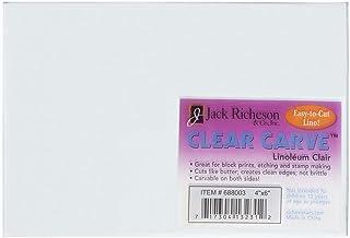 Jack Richeson Clear Carve Linoleum 7.62 X 10.16 厘米