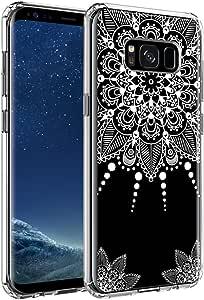 Galaxy S8 手机壳。 SYONER [耐刮擦] 超薄透明手机壳三星 Galaxy S8 * Henna