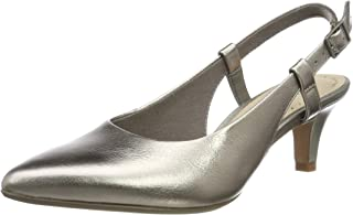 Clarks Linvale Loop 女式高跟凉鞋 露跟高跟鞋