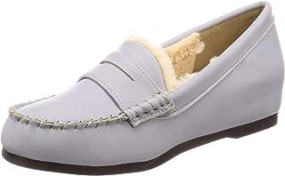 [Nobel Vogue 休闲裤] 蓬松软皮平底鞋 219-0123 女士