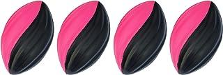 LMC Products 迷你泡沫足球 - 泡沫球 - 儿童户外玩具 - 易于抓握 - 四个 5 英寸儿童玩具球 - *好的迷你足球(粉色)