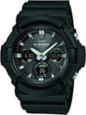 Casio 卡西欧 G-Shock GAW-100B-1AER 男士石英手表 黑色