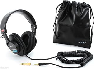 Sony 索尼 DJ 耳机 (4334205465) MDR-7506 带软壳4334205465 标准