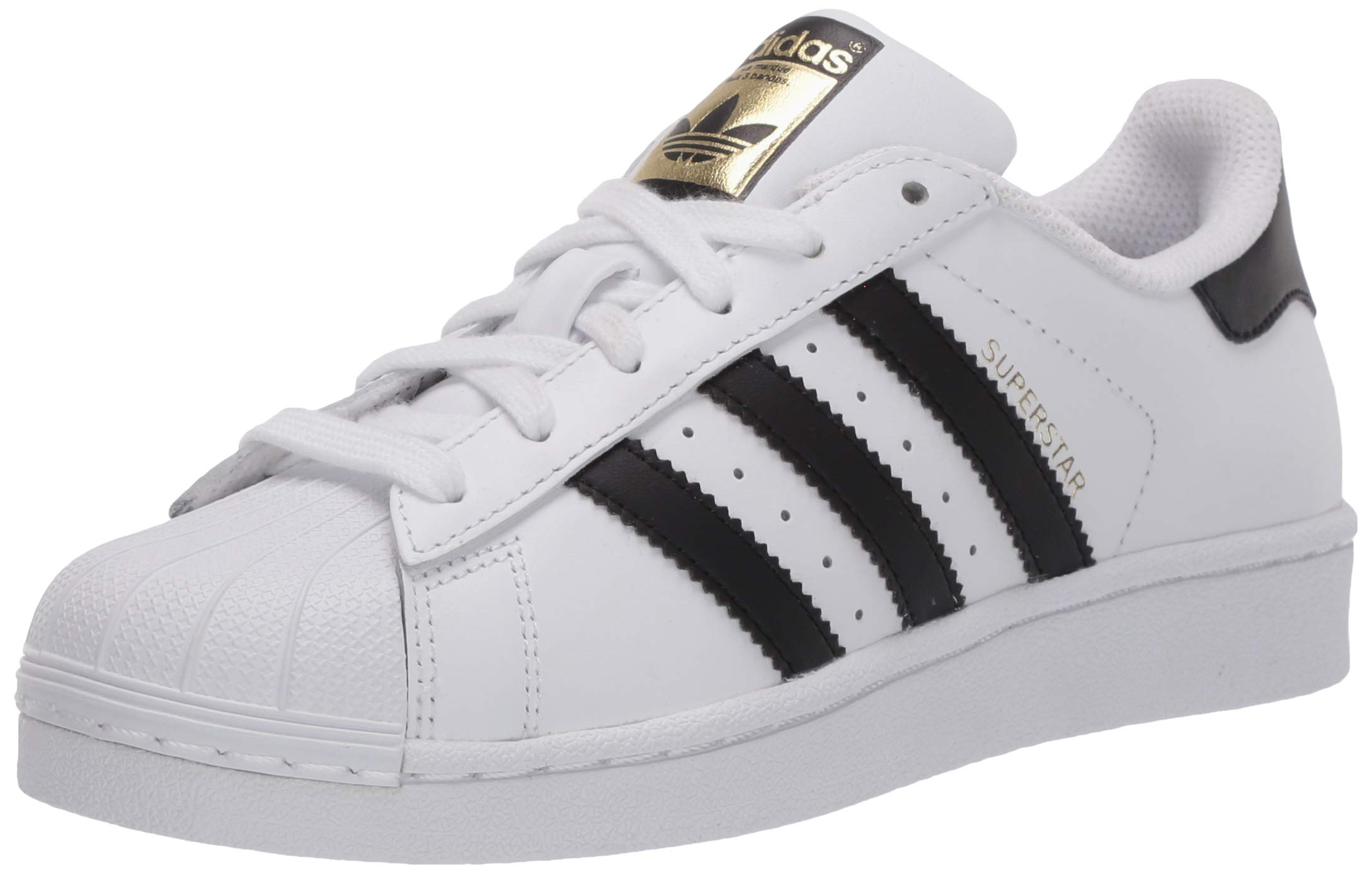 adidas 阿迪达斯 Originals Superstar 中性 儿童运动鞋 Weiß (Ftwr White/Core Black/Ftwr White) 36 2/3 EU