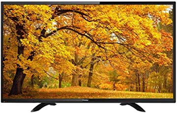 Haier 海尔 LE39B3500W 39英寸 风行电视海量内容库随心享 黑色 购买海尔风行系列电视送金卡影音会员一年