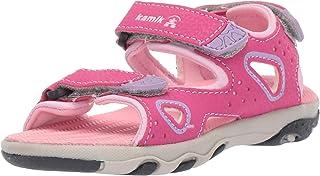 Kamik 女孩 Lobster2 系带凉鞋
