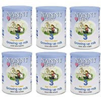 Nannycare 3段奶粉 成长羊奶粉 900g(6罐装)