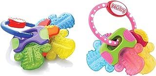 Nuby 冰胶牙胶钥匙 2 pack Pink/Blue