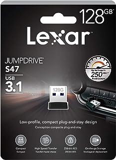 Lexar 雷克沙 Jump Drive S47系列 128 GB USB Stick 3.1 超薄即插即用设计