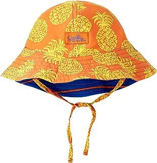 UV SKINZ UPF 50+ 男婴双面太阳帽水洗菠萝
