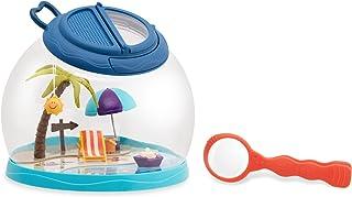 B. Battat 设计的玩具 - Tiki Retreat Bug 捕虫器套件 - 1 个昆虫盒镊子放大镜 - Bug Toys 儿童 4 岁以上