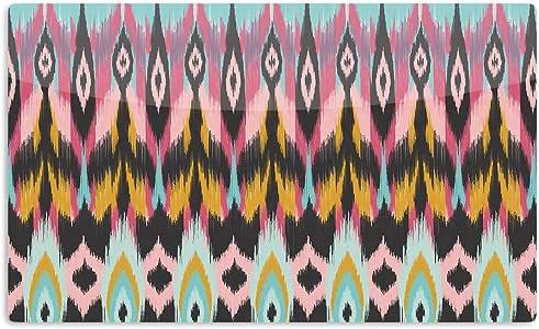 "KESS InHouse Amanda Lane""Bohotribal"" 艺术铝磁铁,5.08 厘米 x 7.62 厘米,多色"