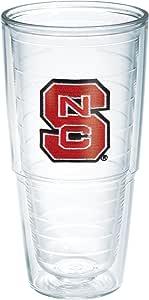 Tervis North Carolina State University Emblem Individual Tumbler, 24 oz, Clear