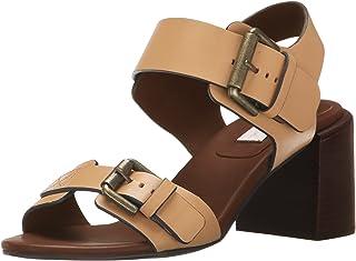 See By Chloe Women's Romy City Sandal, Medium Beige, 6 M US