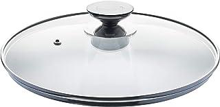 Berndes 替换盖 TITANIUM SPECIAL EDITION,SignoCAST,ColorCAST,灰色 28 厘米,玻璃盖,耐裂,耐热