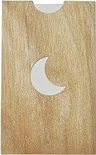 yuica 香味卡/月牙(檜木的墊子+隔斷紙10張)
