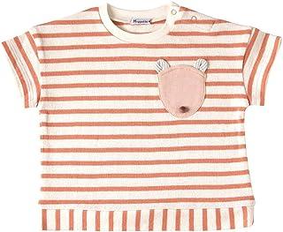 Hoppetta 猫咪条纹T恤 [対象] 12ヶ月 ~ 18ヶ月 橙色 80