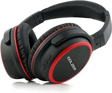 Golzer BTX40 无线蓝牙立体声耳机带麦克风BRX40-R 红色