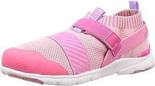 MoonStar 月星 运动鞋 学生鞋 4大功能 魔术贴 15厘米~22厘米 有0.5厘米 儿童 MS C2228 粉色 20.0 cm 2E