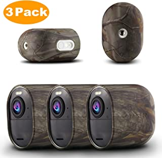 Arlo Ultra Skin,Taken 保护硅胶外壳与 Arlo Ultra Camera 兼容 - 耐用耐候硅胶保护套,3 件装 迷彩色