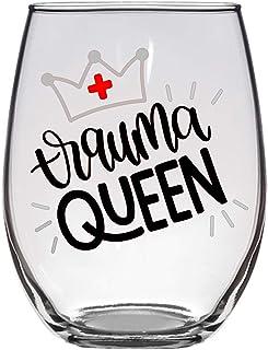 Trauma Queen 酒杯,2 盎司,*,ER *,Trauma 酒杯