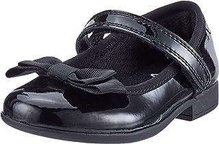 Clarks 女童Scala Tap T 闭趾凉鞋