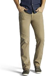 LEE Men's Regular Fit Straight Leg Jean, Lyon 40W x 32L