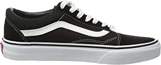 Vans Ward Suede/canvas, Unisex Kids' Low-Top Sneakers, Black ((Suede/Canvas) Black/White Iju), 2.5 UK (34.5 EU)