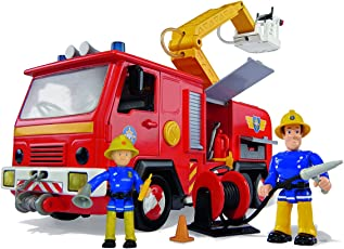 Simba仙霸玩具109257661 - 消防员山姆木星号消防车2个人偶28厘米