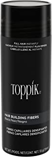 TOPPIK Hair Building Fibers, Black, 1.94 oz.