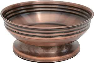 BathSense CM1390 铜可加墨浴室肥皂泵分配器和乳液分配器,铜 铜色 CM1394