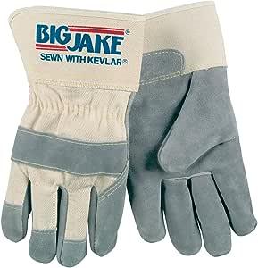 Memphis glove 1700S 大杰克牛皮缝制 Kevlar 手套,带 6.99 厘米*袖口 2X-Large 1700XXL