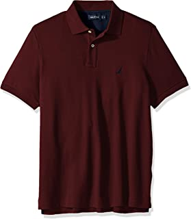 Nautica 诺帝卡 男士经典修身短袖纯色柔软棉质Polo衫