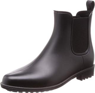 [Romeo Valentino ] 雨靴 雨靴 女士 侧裆 朴素 防水 梅雨 雨天 雪天 B18149