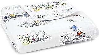 Aden + Anais Disney 婴儿梦毯,4 层 * 纯棉细绒,120cm X 120cm