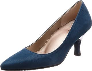 [萨克森沃克] 浅口鞋 尖头 鞋跟7cm D~EE 山羊皮 WIN120