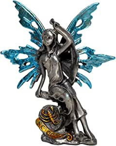 Pixie 眩光十二宫标志锡合金仙女雕像收藏版雕像。 所有 12 种标牌均有售 Scorpio