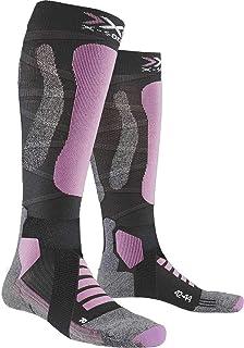 X-Socks 女士滑雪旅行银色 4.0 袜
