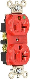 Legrand-Pass & Seymour IG8300RED Pass and Seymour Ig8300-红色 20A 5-20R *插座 需配变压器