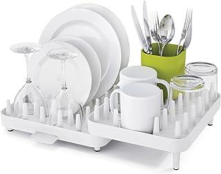 英国 Joseph Joseph 排水碗架双层沥水架多功能碗碟盘杯架置物架