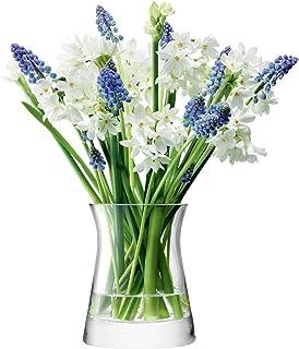 LSA International FW17 圆形花卉花瓶,H13cm清晰