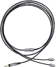 AKG CN120-2.5 耳機電纜 2.5mm/4極/高純度6N-OFC導體/平衡 深灰色 AC-2.5M4-MMCX-1.2M 【國內正品】
