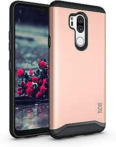 LG G7 手机壳,LG G7 ThinQ 手机壳,TUDIA 超薄贴合手机 [合并] *保护/坚固纤薄双层手机壳适用于 LG G7 智能手机TD-TPU4124 玫瑰金