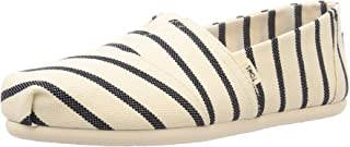 TOMS 女士帆布一脚蹬鞋