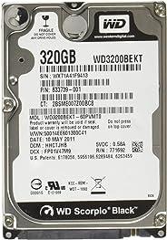 WD 黑色移动硬盘:2.5 英寸,7200 RPM,SATA II,16 MB 缓存,5 年保修 - WD7500BPKTWD3200BEKT 320 GB