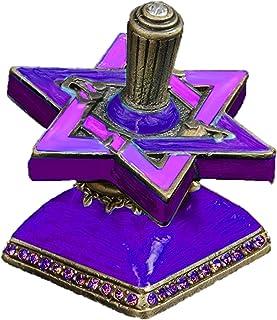 Quality Judaica 光明节 Dreidel 紫色
