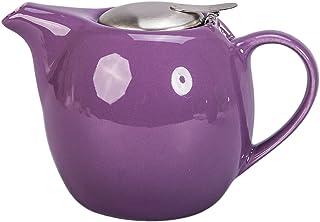 BIA Cordon Bleu Ooh La La La 30盎司陶瓷茶壶,带注入器 浅紫色 30 oz.