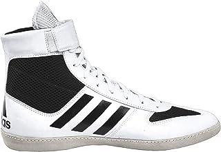 adidas COMBAT 速度5白色黑色摔跤鞋 ac7501)