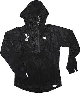 New Balance 女式 2019 纽约城市马拉松 1/2 拉链风衣夹克(运动款 S 码)黑色